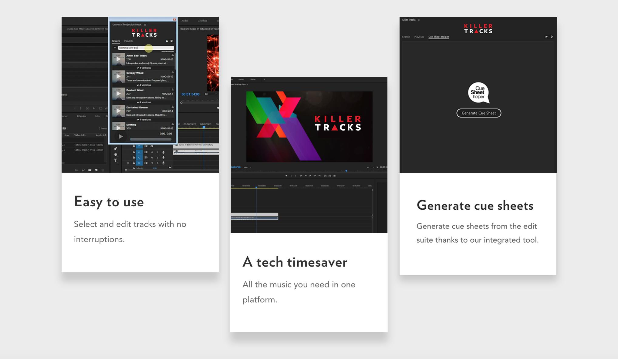 Extension for Adobe Premiere Pro